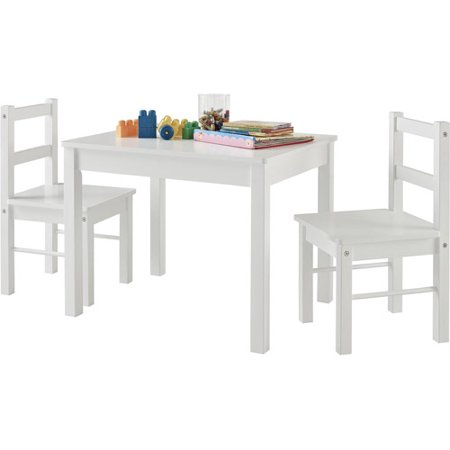 Ameriwood Home Hazel Kid's Table and Chairs Set, Multiple (Juvenile Kids Table)