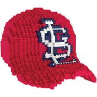 St. Louis Cardinals Baseball Cap BRXLZ Puzzle
