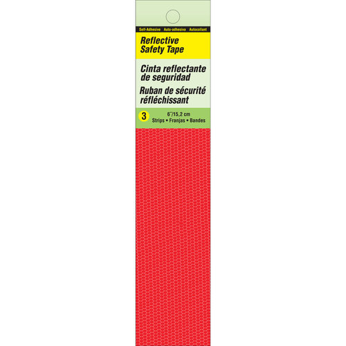Reflective Safety Strip, Red by Hy-Ko Products