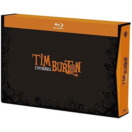 Tim Burton Collection - 17-Disc Box Set ( Pee-wee's Big Adventure / Beetlejuice / Batman / Edward Scissorhands / Batman Returns / The Nightmare Before Christmas [ Blu-Ray, Reg.A/B/C Import - Tim Burton Halloween Movie