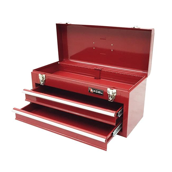 Stack-On SHRP-20 20 in. Steel Tool Box, Gloss Red