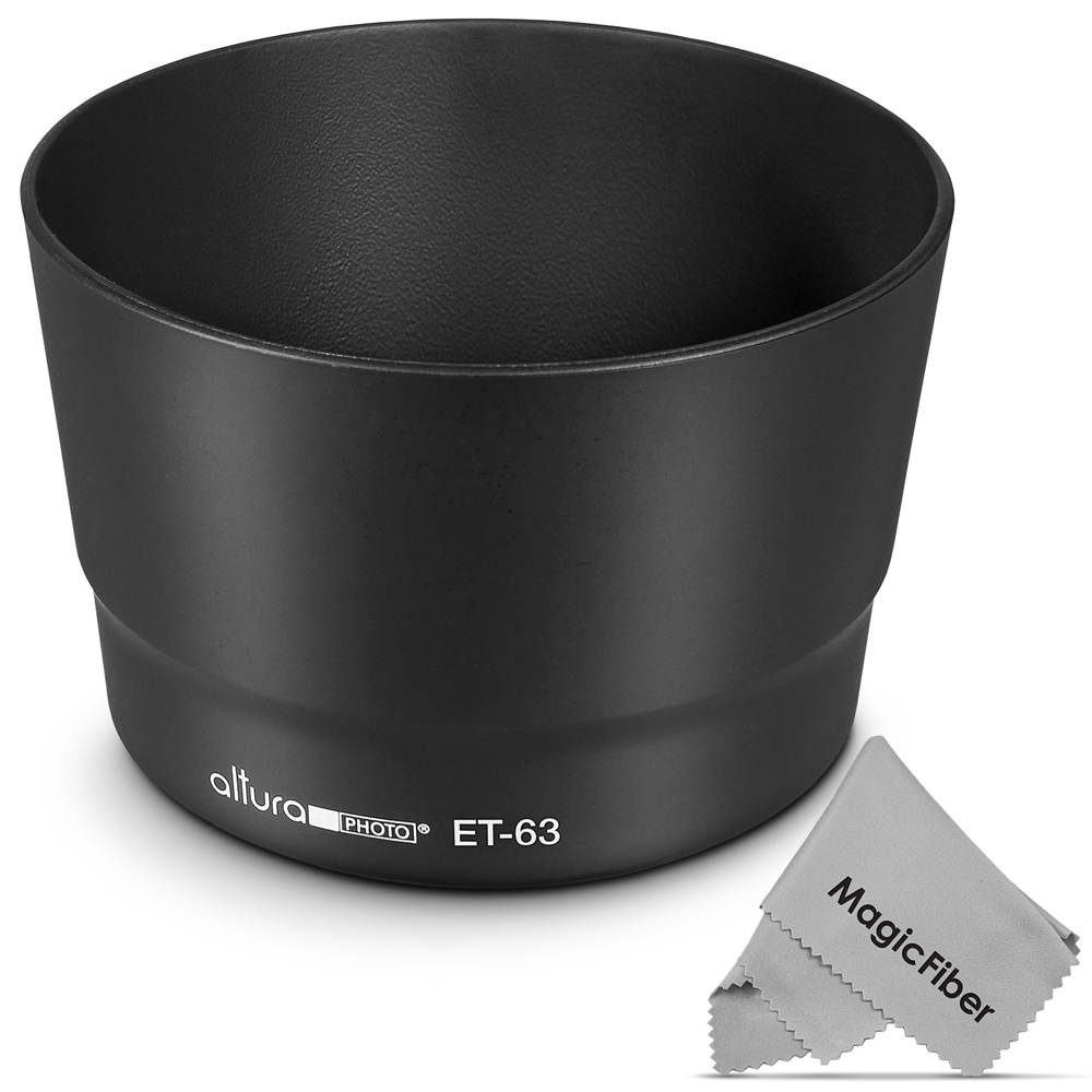 (Canon ET-63 Replacement) Altura Photo Lens Hood for Canon EF-S 55-250mm f/4-5.6 IS STM Lens