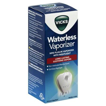 how to use vicks waterless vaporizer