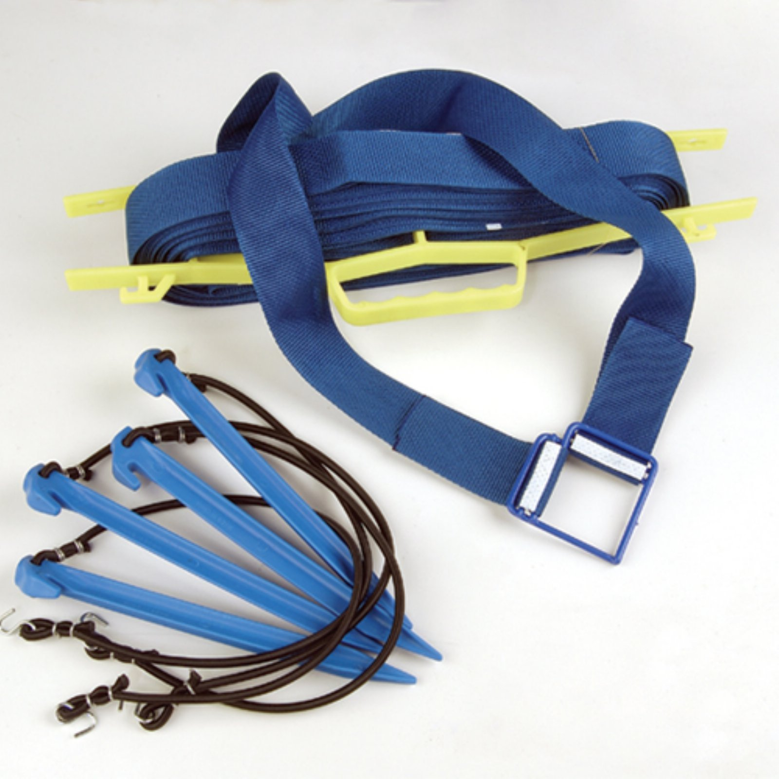 Tandem Sport Professional Webbed 2 in. Court Line - Blue