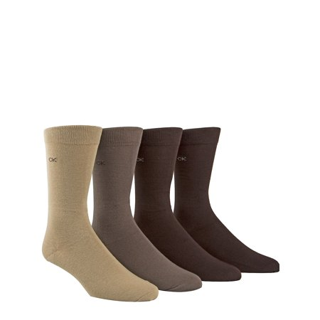 4-Pack Solid Cotton-Blend Socks