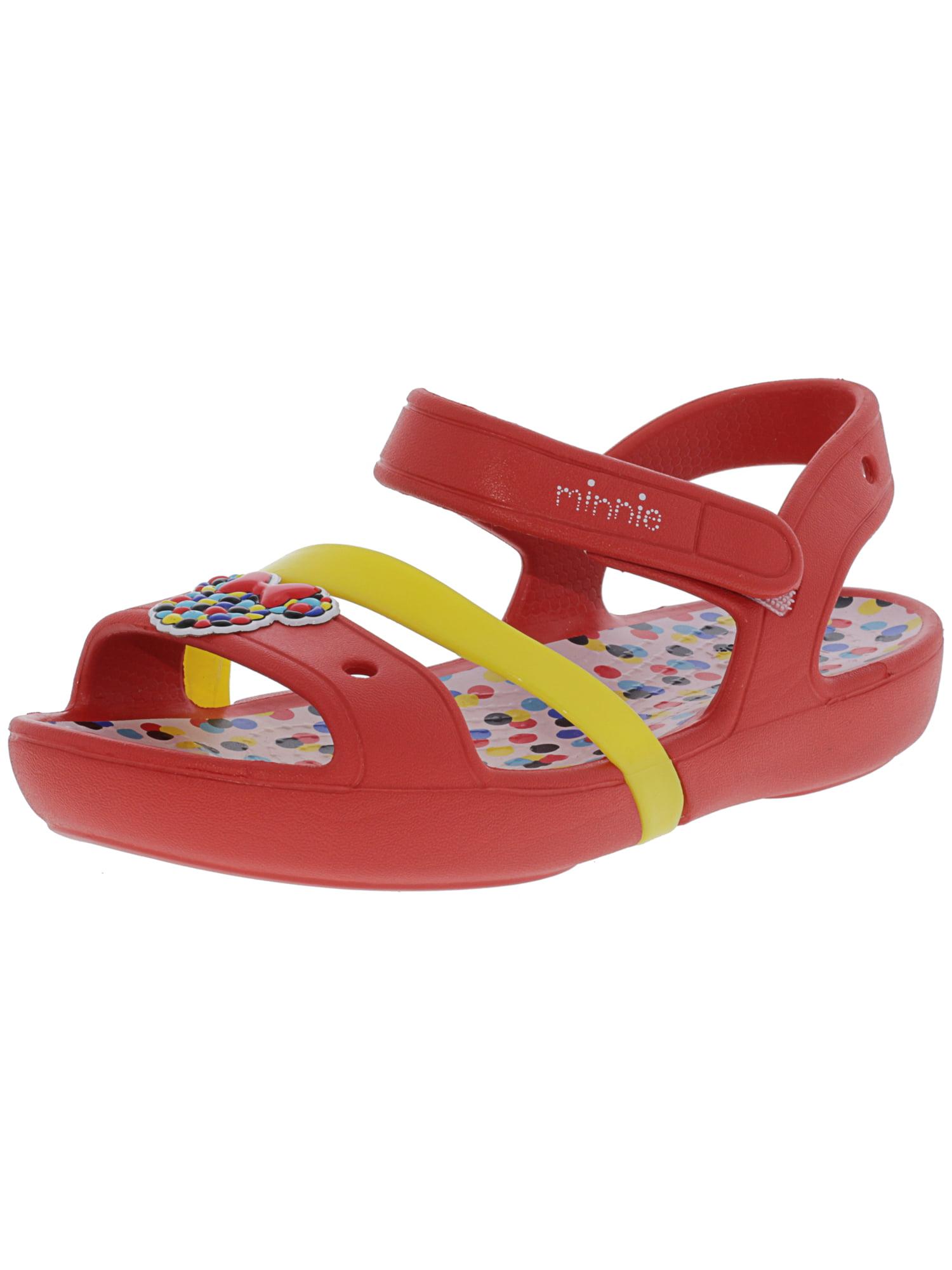 4c4159ad549b24 Crocs Girl s Lina Minnie Sandal Dots - 12M