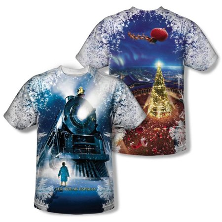 Youth: Polar Express - Journey (Front/Back Print) Kids T-Shirt - Sublimation