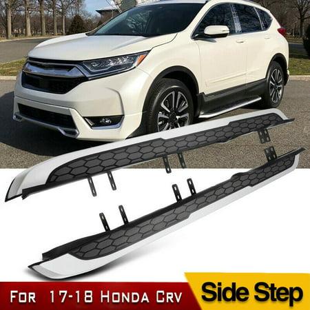 For 2017 2018 2019 Honda CR-V CRV Running Boards Side Step Aluminum