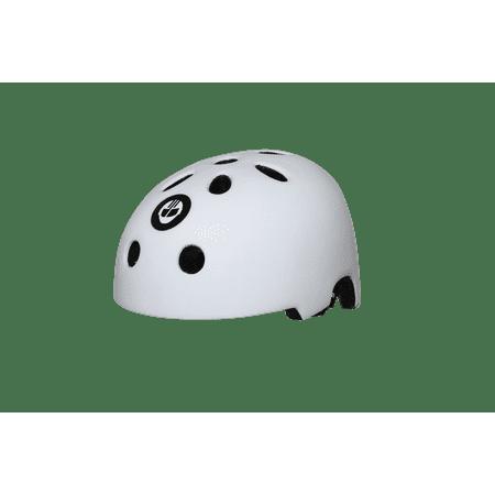 Bike Skate (GOTRAX Youth Bike Skateboard & Scooter Helmet - White - Large)