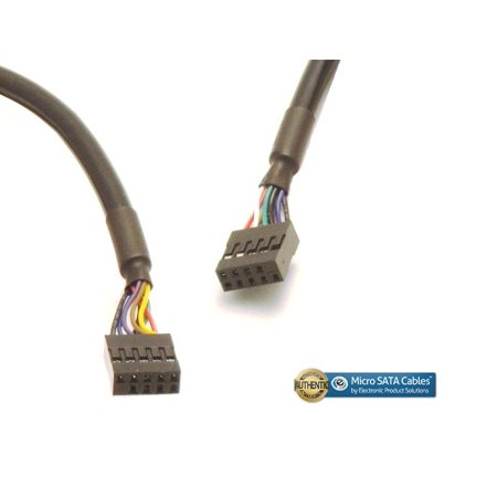 USB 2.0 Internal Motherboard Extension Cable 10 (10 Pin Internal Usb 2-0 Extension Cable)