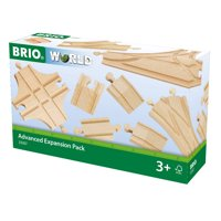 BRIO World Wooden Railway Train Set - Advanced Expansion Pack - Ages 3+
