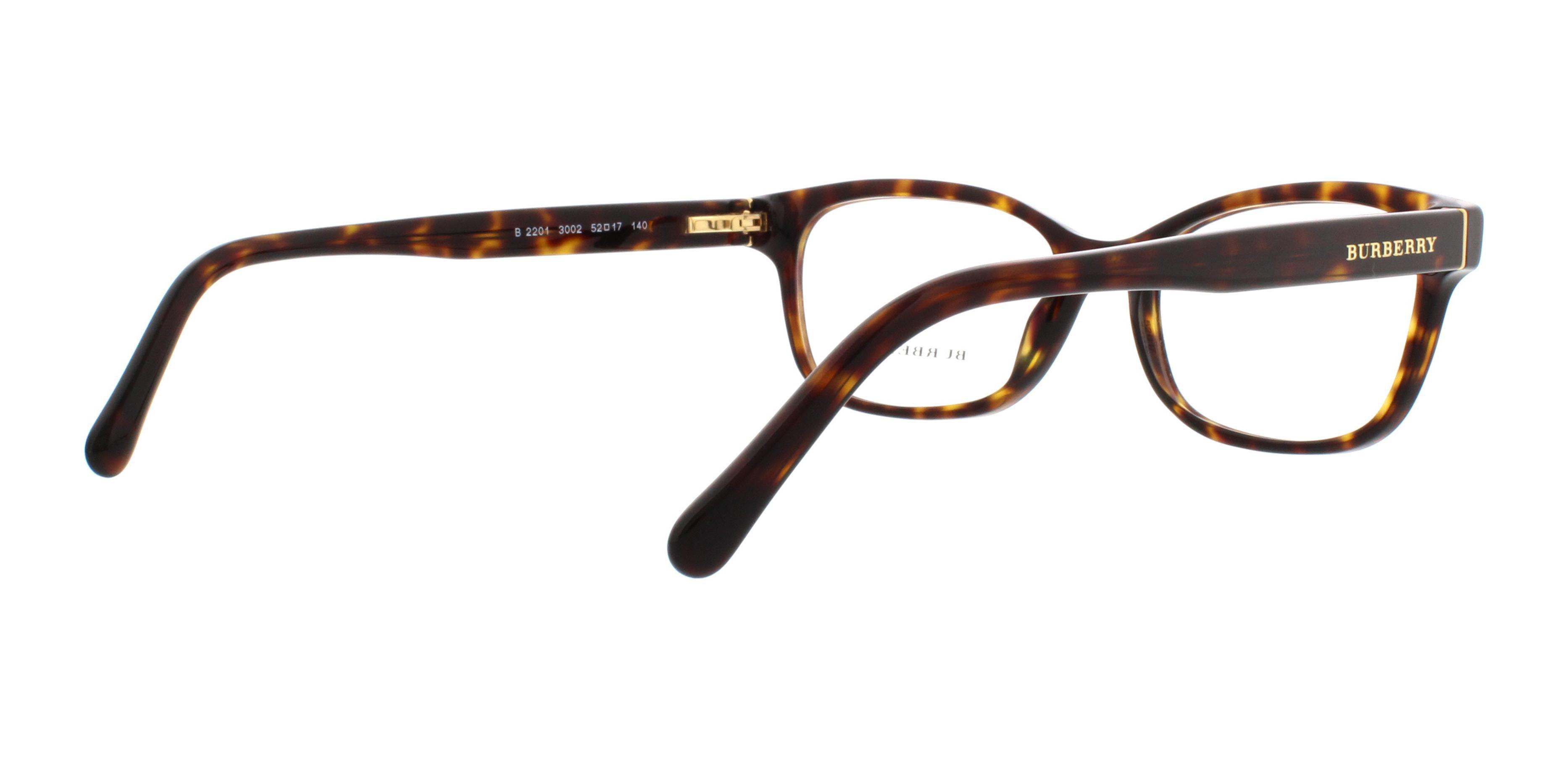 7d1a1bd6c8b BURBERRY Eyeglasses BE2201 3002 Havana 52MM - Walmart.com
