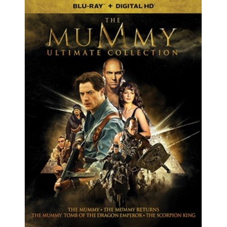 The Mummy Ultimate Collection (Blu-ray) (Halloween Mummy Cartoon)
