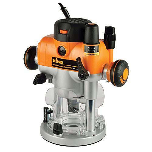 Triton TRA001 Dual Mode Precision Plunge Router 2400W   3-1 4hp 523504 by Triton Tools
