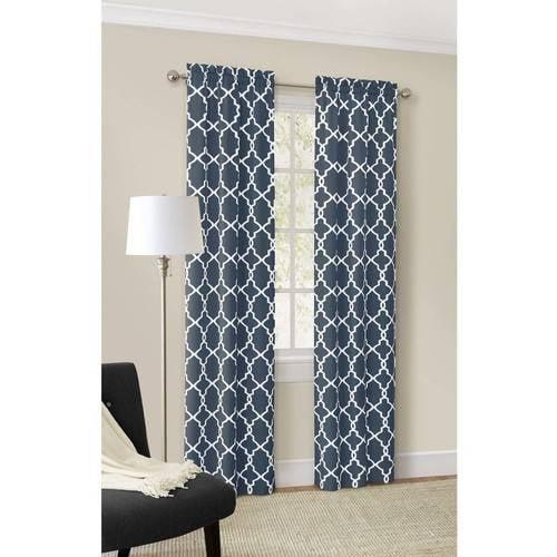 Mainstays Calix Fashion Window Curtain, Set of 2 by Ellery Homestyles Studio