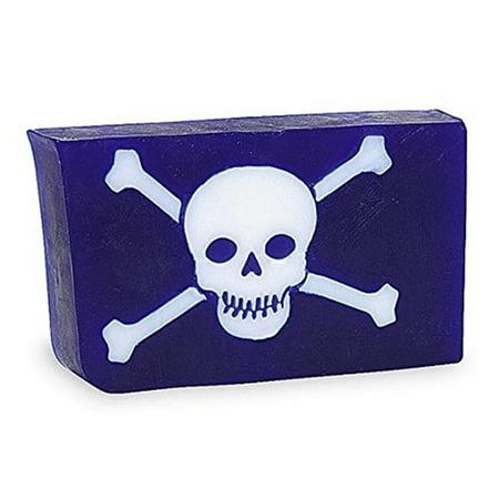 Primal Elements SWSK Handmade Vegetable Glycerin Soap Skull & Bones - 5.8 oz.