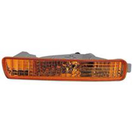 Compatible 1994 - 1995 Honda Accord Front Signal Light Assembly / Lens Cover - Right (Passenger) 33300-SV4-A01 HO2531107 Replacement For Honda Accord ()