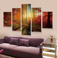 c841f05f751 Way 5 Pcs Frameless Canvas Prints Pictures