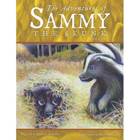 The Adventures of Sammy the Skunk - eBook - Skunk Skeleton