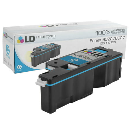 Compatible Xerox Phaser 6022/WorkCentre 6027 106R02756 Cyan Toner (1,000 Pages) Phaser 740 Cyan Toner