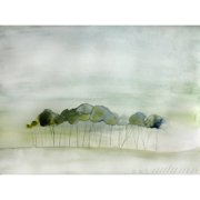 Mai Autumn Quiet by Christine Lindstrom Painting Print