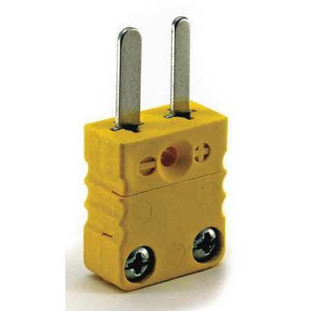 Thermocouple Plug,K,Yellow,Miniature DAYTON 36GK84