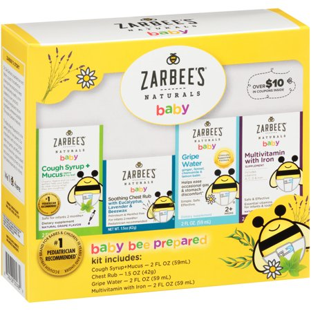 Zarbee S Naturals Baby Bee Prepared Kit Including Cough