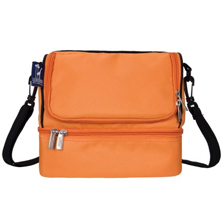 Wildkin Bengal Orange Two Compartment Lunch Bag