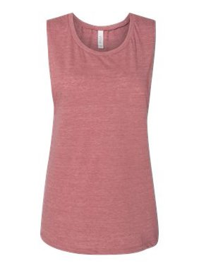 152716b8 Product Image Bella + Canvas Tank Top B8803 Women's Flowy Scoop Muscle Shirt