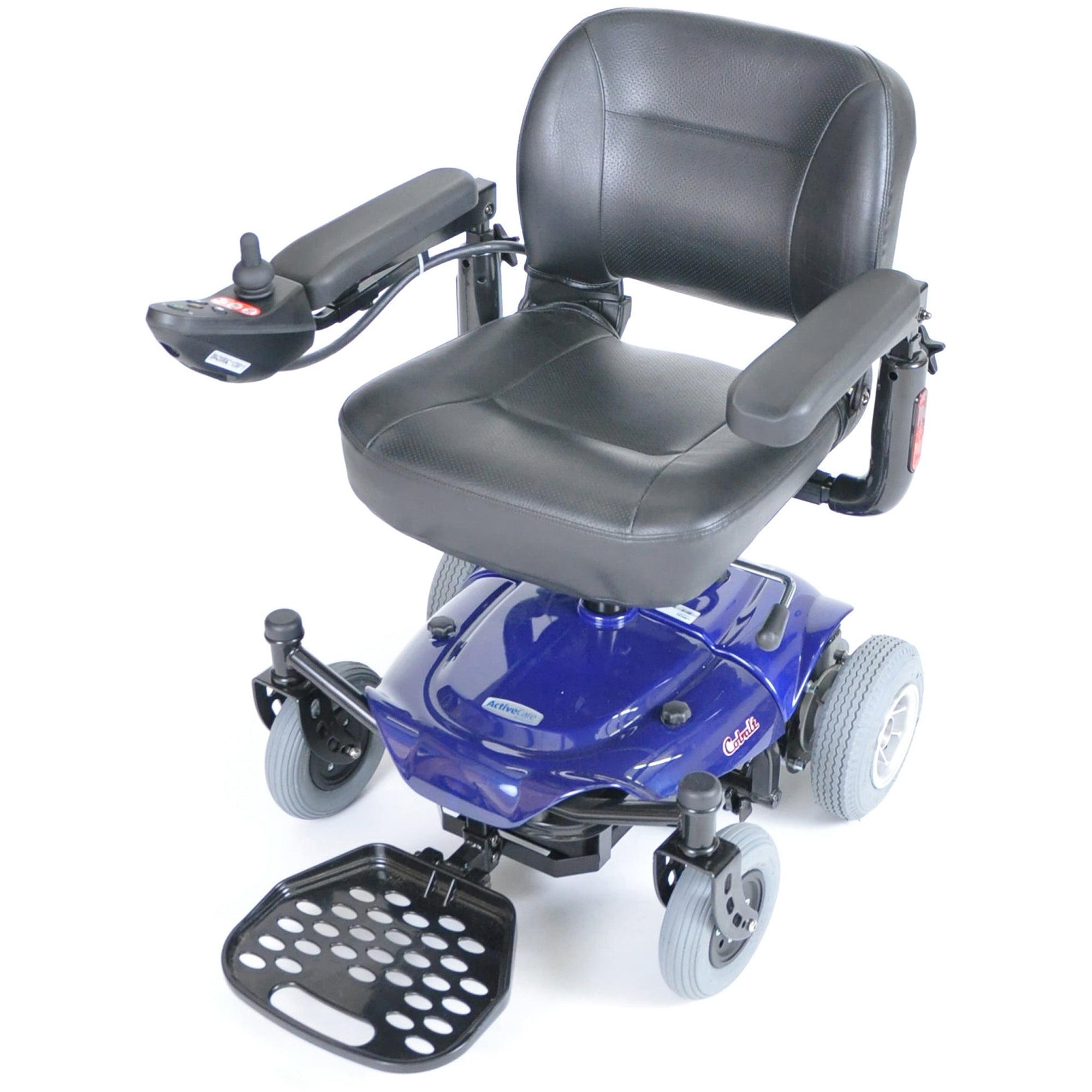 Drive Medical Cobalt X23 Power Wheelchair, Blue