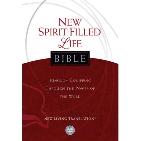 New Spirit-Filled Life Bible, New Living Translation (NLT) -