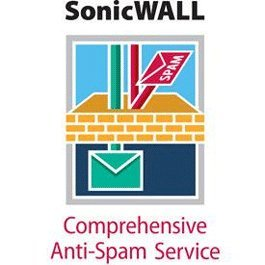 SONICWALL 01-SSC-4872 Comprehensive Anti-Spam Service for TZ 105 (2 Yr)