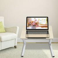 OTVIAP Portable Laptop Table,Portable Adjustable Height Laptop Computer Stand Desk Bed Side Reading Table,Laptop Desk