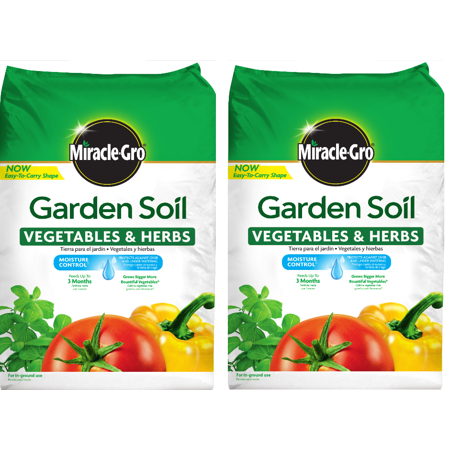 Miracle-Gro Garden Soil Vegetables & Herbs 1.5 CF (2