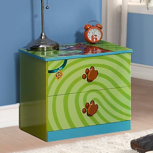 O'Kids Inc. Scooby Doo 2 Drawer Nightstand