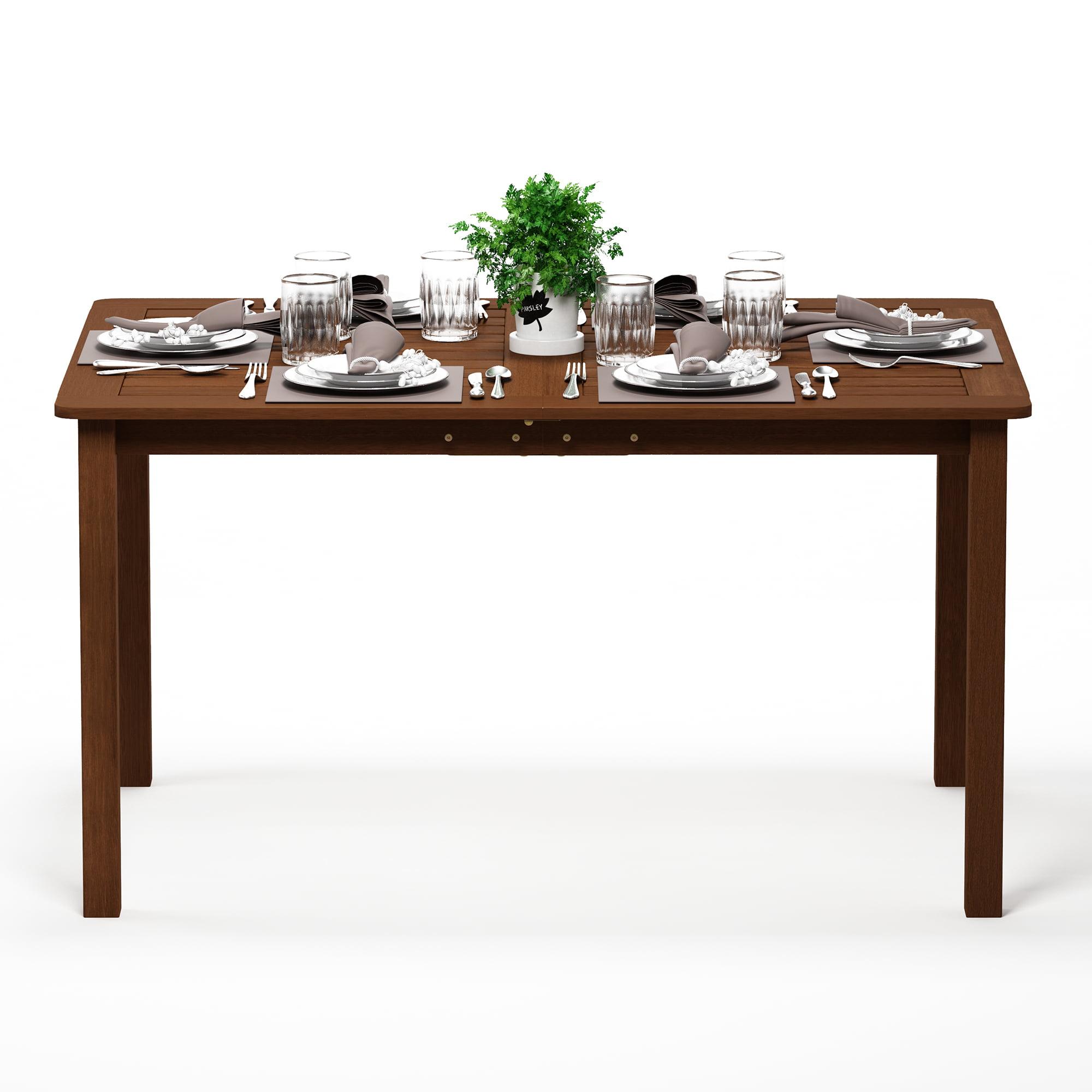 Furinno Tioman Hardwood Outdoor Dining Table, FG18070