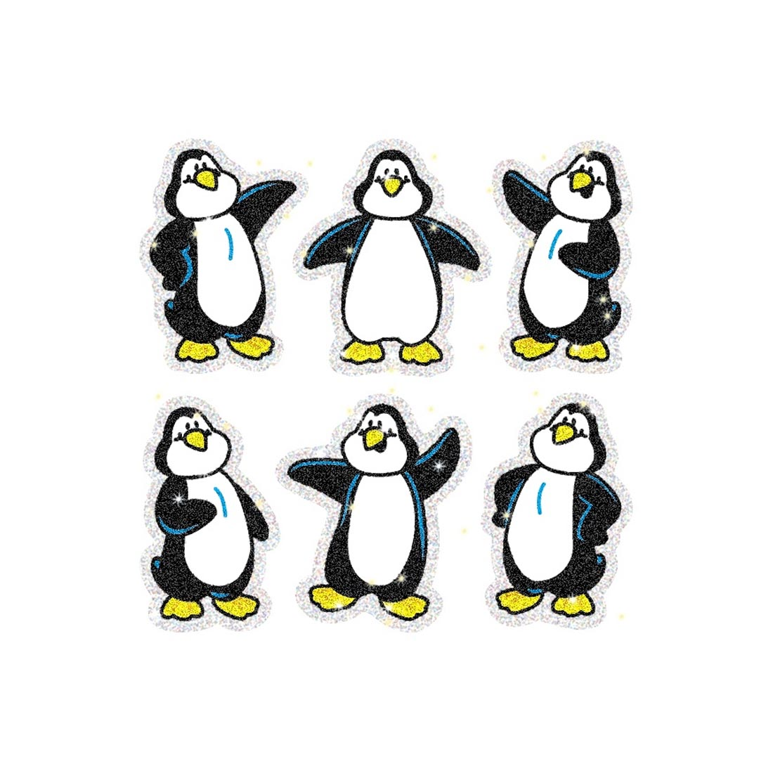 Penguins Dazzle Stickers by Carson-Dellosa