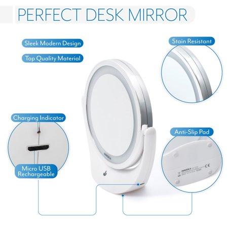 Innoka Makeup Mirror Led Adjustable Light 1x 5x