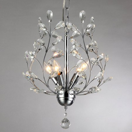 Warehouse of Tiffany Marie 4 Light Crystal Chandelier