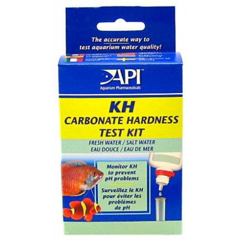 API KH Carbonate Hardness Test Kit for Fresh & Saltwater Aquariums Carbonate Test Kit Fresh/Salt Water