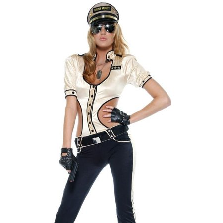 Sexy Police Officer Uniform Adult Halloween Costume Womens U.S. Small/Medium - 1920 Police Uniform