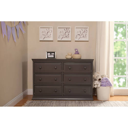 DaVinci Signature 6-Drawer Double Dresser, Choose Your Finish by The MDB Family