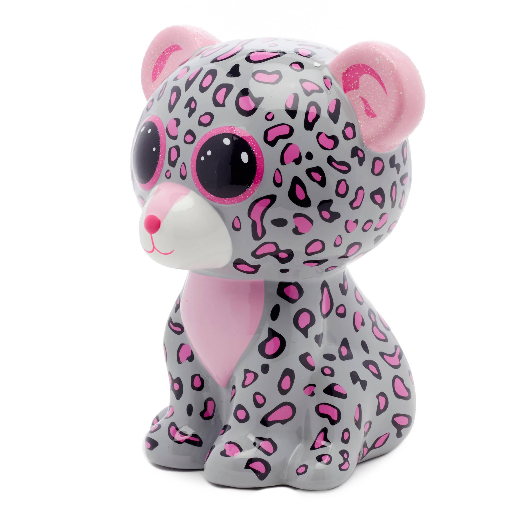 Beanie Boo Figural Ceramic Cat Piggy Bank Walmart