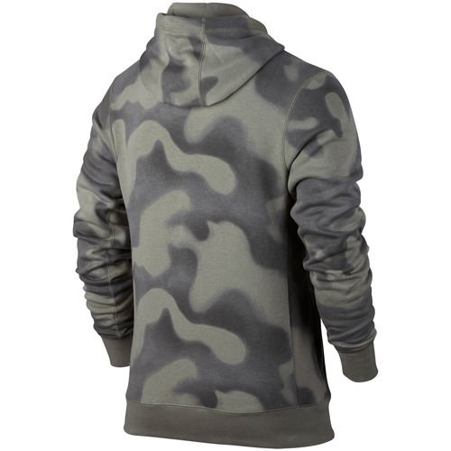 70b663f81f107b men s brand jordan hunter green p51 jordan flight fleece pullover hoodie -  Walmart.com
