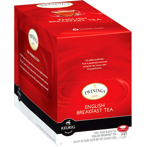 Twinings of London English Breakfast Tea Keurig® K-Cup® 24 Count