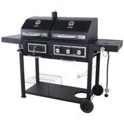 Revoace Dual Fuel Gas Charcoal Combo Grill Image 2 Of 18