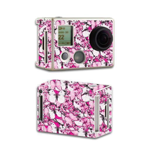 Skin For GoPro HD Hero2 – Butterflies | MightySkins Protective, Durable, and Unique Vinyl Decal wrap cover | Easy To Apply, Remove, and Change Styles | Made in the USA