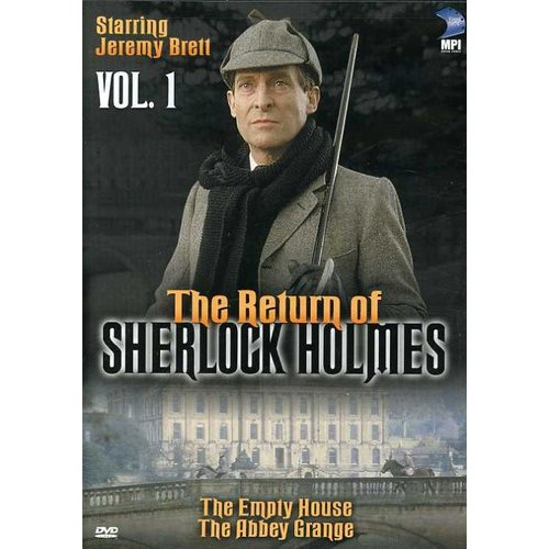 The Return of Sherlock Holmes, Vol. 1: The Empty House/the Abbey Grange [DVD]