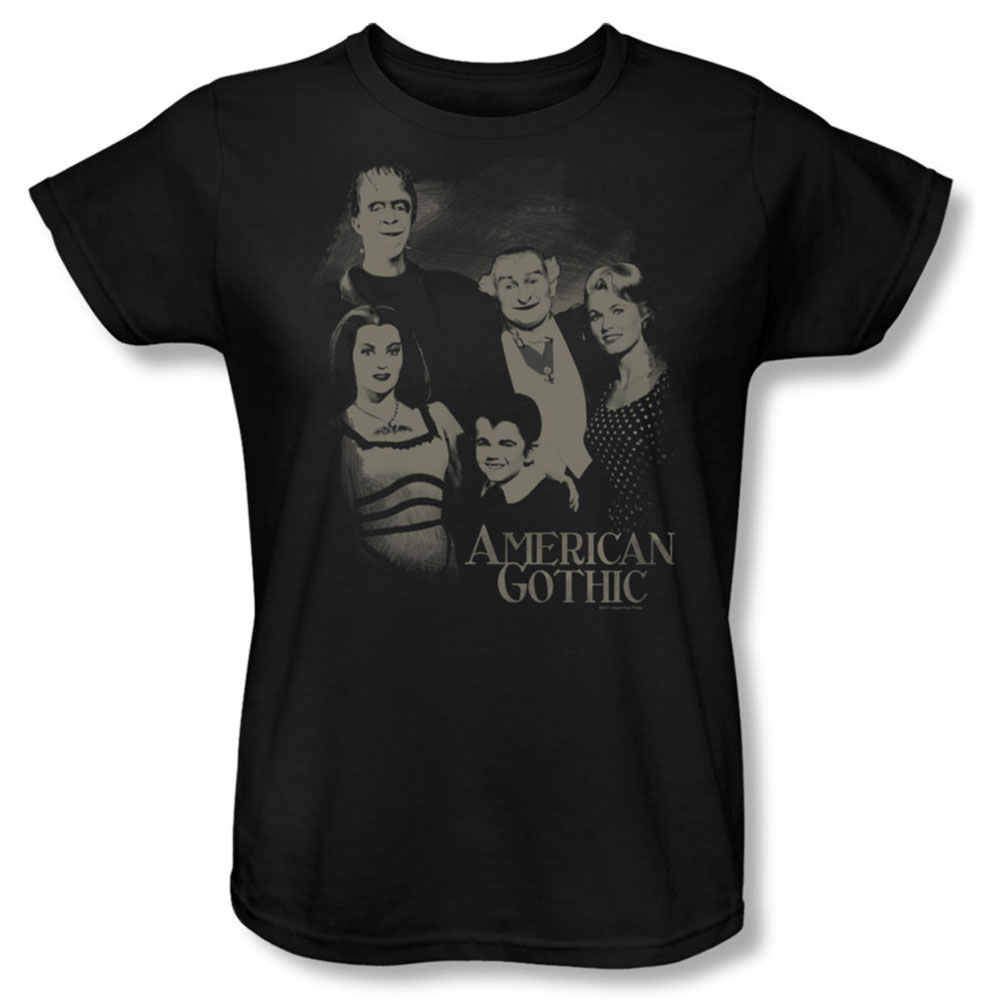 The Munsters  American Gothic Girls Jr Black