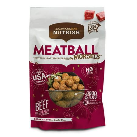 Rachael Ray Nutrish Meatball Morsels Grain Free Dog Treats